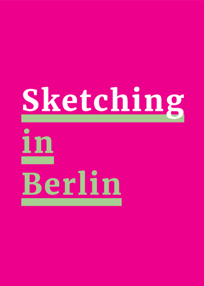 'Sketching in Berlin' course